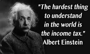einstein and tax